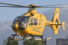 EC135 rescue helicopter, Scottish Ambulance Service, Photo : Stéphane Gimard