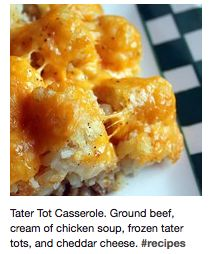 I'd use chicken instead of ground beef... but looks delish