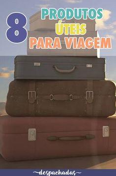 Produtos legais, úteis ou diferentes para quem curte viajar