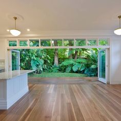 180 mm Spotted Gum timber flooring by Home Interior, Interior And Exterior, Interior Design, Spotted Gum Flooring, Outdoor Spaces, Outdoor Living, Timber Flooring, Home Reno, House Goals