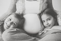 Family maternity Photos by Becky Williamson Photography