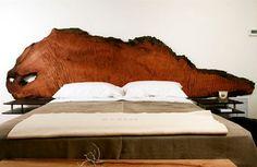 Testate in legno per letto