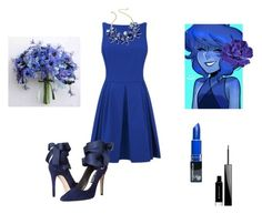 """Marshley Wedding Rewrite: Lapis Lazuli (Bridesmaid)"" by gravityfallsgirl33 ❤ liked on Polyvore featuring Alice + Olivia, Kate Spade, Givenchy and Chanel"