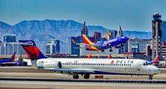 N935AT Delta Air Lines 2000 Boeing 717-231 - cn 55069 / 5019 - Las Vegas - McCarran International Airport (LAS / KLAS)<br />USA - Nevada March 24, 2017<br />Photo: Tomás Del Coro