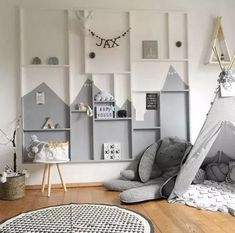 33 Gorgeous Scandinavian Wardrobes Ideas For Kids Bedroom Decor To Inspire Yo Baby Bedroom, Baby Boy Rooms, Kids Bedroom, Bedroom Decor, Boys Room Design, Kid Spaces, Girl Room, Room Inspiration, Decoration