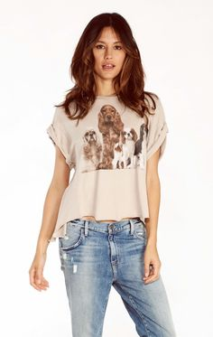Wildfox Couture Beggers Jagged Edge Tee