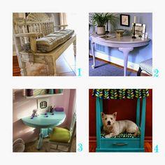 donneinpink - fai da te risparmio e consigli per gli acquisti : Riciclo vecchi tavoli- Idee geniali dal web