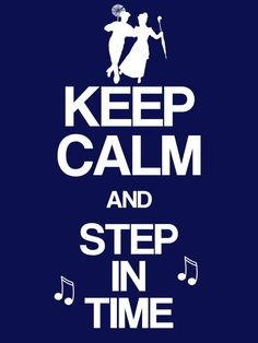 """Keep Calm & Step in Time - Mary Poppins - Project Life Disney Filler Card - Scrapbooking. ~~~~~~~~~ Size: 3x4"""" @ 300 dpi. This card is **Personal use only - NOT for sale/resale** Logos/clipart belong to Disney. Music notes from www.clker.com . Font is Coolvetica http://www.dafont.com/coolvetica.font ***"""