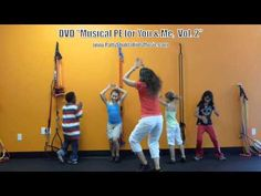Follow Me (DVD version) - Kids action song by Patty Shukla - movement song