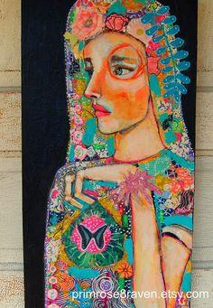 the storyteller by primrose8raven on Etsy by Artist Dana Primrose Bloede
