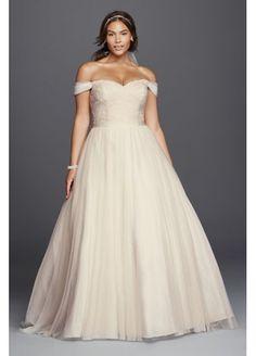 Beaded Lace Sweetheart Plus Size Wedding Dress 4XL9WG3785