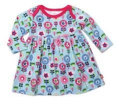 Baby-Girls born Dizzy Daisy Long Sleeve Dress