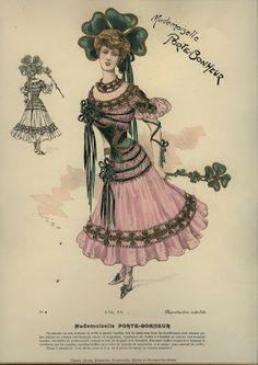 Late 19th century masquerade costume