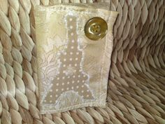 'Eiffel Tower' Business cards keeper Handmade Bags, Business Cards, Tower, Wallet, Accessories, Lipsense Business Cards, Handmade Handbags, Rook, Computer Case