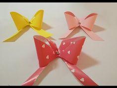 ▶ Cómo hacer un lazo de papel para envolver regalos de forma original. - YouTube