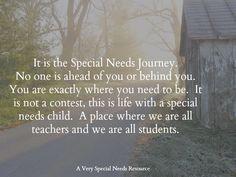 I am a special needs mom...