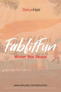 Check out DeluxHair's Winter Box Reveal from affiliate partner FabfitFun! Affiliate Partner, Natural Haircare, Natural Hair Styles, Winter, Winter Time, Winter Fashion