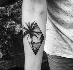 coqueiro | Tatuagem.com (tatuagens, tattoo)