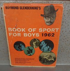 Book of Sport for Boys 1962 Book (Raymond Glendenning - by bastarduk on Etsy The Creator, History, Books, Sports, Fun, Etsy, Products, Hs Sports, Historia