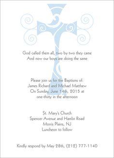 Baptism Invitations In Spanish Baptism Invitation Wording In