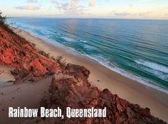 #Swimming destination: Rainbow Beach, Queensland