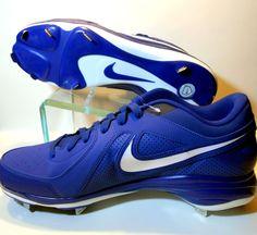 Nike Air MVP Pro Metal Mens Baseball Cleats 524641-410 New Blue USA Size 14  M 6f2ea8edc2e