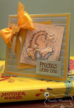 ONECRAZYSTAMPER.COM: Precious Little One by Natalie using High Hopes Stamps…
