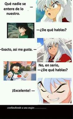 \(-_-)/ from the story InuYasha Memes by DannxKook (𝓝𝓸𝓬𝓱𝓾) with 100 reads. Inuyasha Memes, Rin And Sesshomaru, Inuyasha Love, Yes Man, Alucard, Fairy Tail Anime, Cute Comics, Anime Love, Sailor Moon