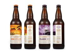 Lanikai Brewing Company Packaging by Hampton Hargreaves Beer Brewing, Home Brewing, Craft Beer Brands, Beer Label Design, Beer Packaging, Brewing Company, Bottle Design, Brewery, Beer Bottle