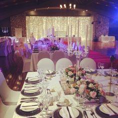 Another gorgeous wedding setup #ThabaWeddings