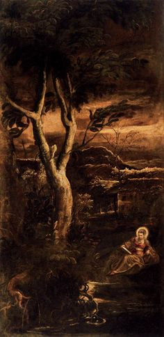 St Mary Magdalen - Tintoretto  Discover the coolest shows in New York at www.artexperience...