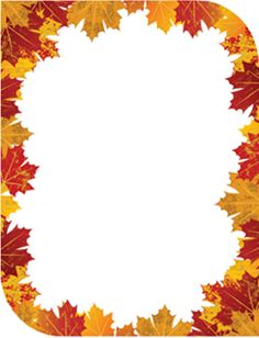9 best images of free autumn printable stationery templates free