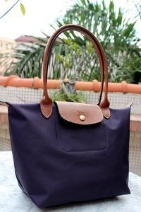 Longchamp tote, I have this in teal and saddle leather, a FAB bag to travel with!