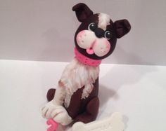 Pets Cake Topper.  Perfect for Pet Lover's by BindweedBakery