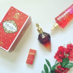 """""""...and when i wear Killer Queen I just know that I smell absolutely perfect."""" What's your Perfect? #myfavoriteperfume #katyperry #killerqueen #perfect #parfums #bblogger #beauty #bold #victoriasecret #spring #springscent #lipstick"""