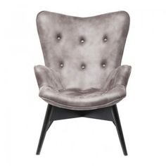 Fauteuil Angel Wings S antraciet