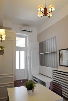 Fundamenta – Otthonok és megoldások 42 nm-es felújított lakás az Operánál - Ilyen gyönyörű lett!