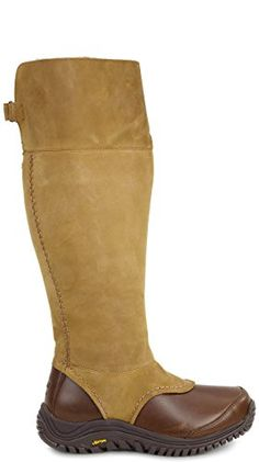 UGG Womens Miko Boot Chestnut Size 12 BM US -- Visit the image link more details.