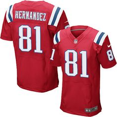 7e8497e47 Ray Lewis jersey Nike Elite Red Men s Jersey - Customized New England  Patriots NFL Alternate