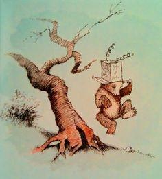 "Illustration from ""Little Bear"", Maurice Sendak"