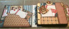Mini Album Cookbook: Mini Album Recipe Book ~ Domestic Goddess ~ Graphic 45
