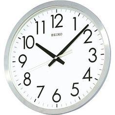 Sport Watch - SEIKO CLOCK (セイコークロック) 掛け時計 オフィスタイプ クオーツ 金属枠 KH409S | 最新の時間センター
