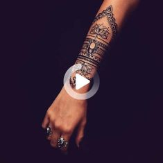 (notitle) - lacey L Wrist Tattoos For Women, Small Wrist Tattoos, Tattoos For Women Small, Mandala Wrist Tattoo, Butterfly Wrist Tattoo, Unalome, Piercings, Tattoo Designs, Forearm Sleeve Tattoos
