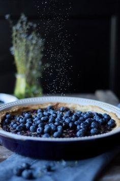 Blueberry Clafoutis Tart - Blaubeer Clafoutis Tarte | Das Knusperstübchen