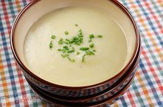 Potato Leek Soup | SkinnyTaste - easy and delicious