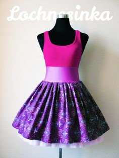 Sukýnka NESSIE DOT kolová no.13 včelí Skater Skirt, Bloom, Dots, Skirts, Fashion, Stitches, Moda, Fashion Styles, Skirt