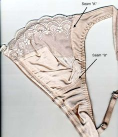 A really detailed tutorial on bra making...really detailed.