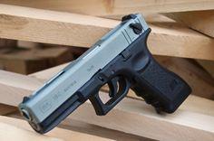 Glock 18C Titanium Slide