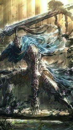 Artorias the Abysswalker - Boss Mode Fantasy Armor, Dark Fantasy Art, Dark Art, Arte Dark Souls, Dark Souls 3, Dark Souls Artorias, Bloodborne Art, Soul Art, Epic Art