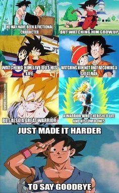 Legends Never Die. We love you, #Goku. T.T
